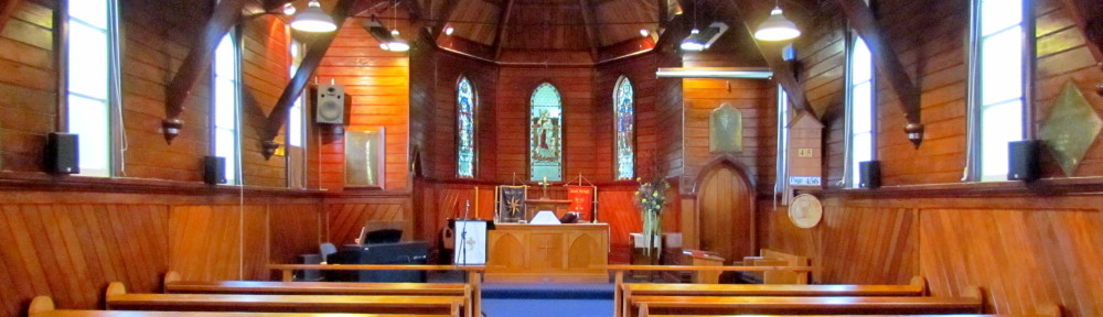 St. Peter's Anglican Church, Katikati, NZ